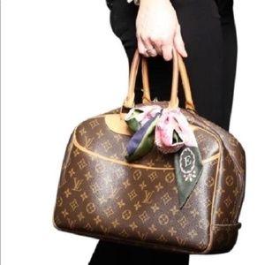 Louis Vuitton Bags - Auth Louis Vuitton Deauville Satchel #2719L18